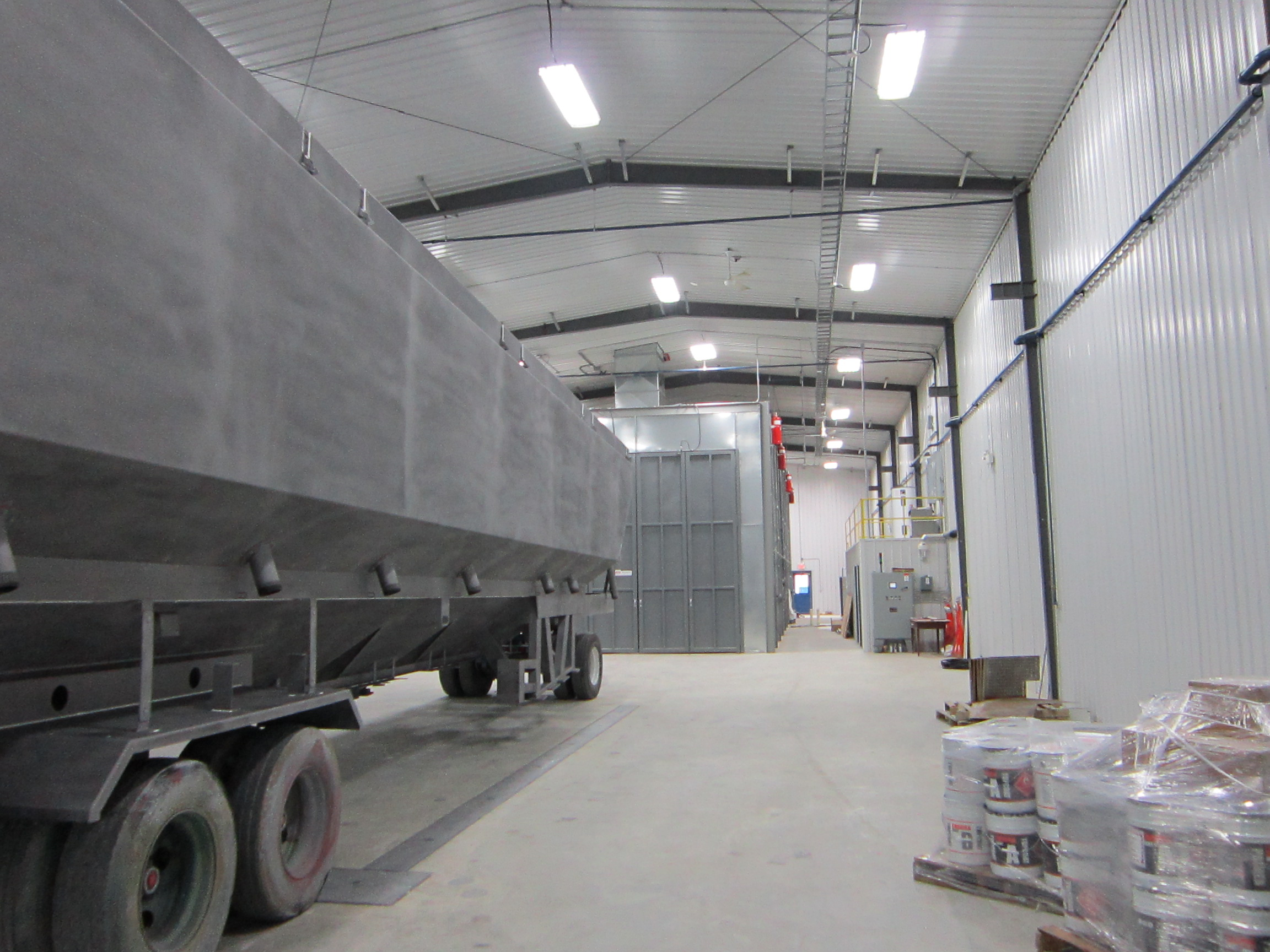 Industrial buildings metal building services ltd for Industrial paint for metal